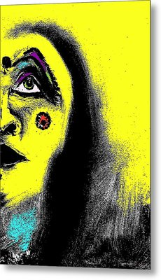 Native Immortal Woman  Metal Print