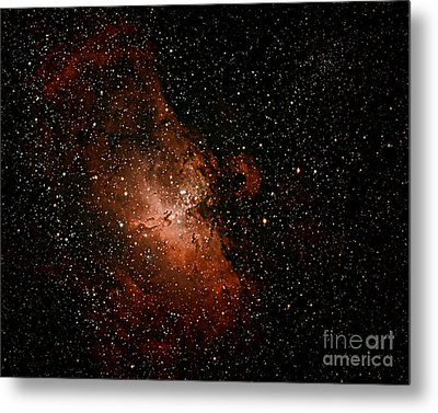 Nebula  M16 Metal Print by Chuck Caramella