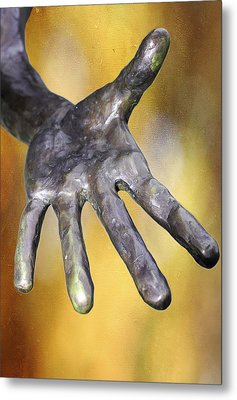 Need A Hand Metal Print by Stephen Norris