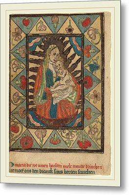 Netherlandish 15th Century, The Madonna And Child Metal Print