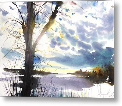 New England Landscape No. 218 Metal Print by Sumiyo Toribe