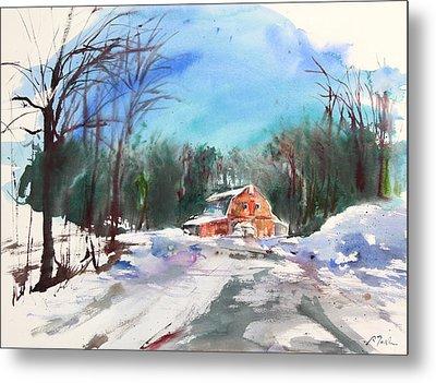 New England Landscape No.217 Metal Print by Sumiyo Toribe