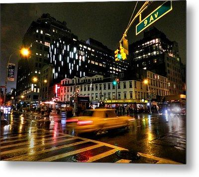 New York City - Greenwich Village 001 Metal Print by Lance Vaughn