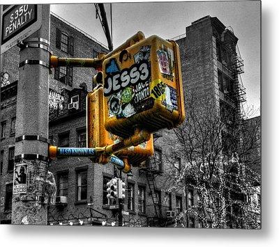 New York City - Soho 004 Metal Print