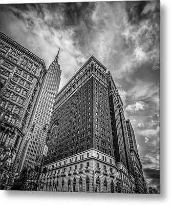 New York New York Metal Print by Shari Mattox
