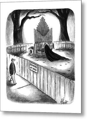 New Yorker April 10th, 1995 Metal Print