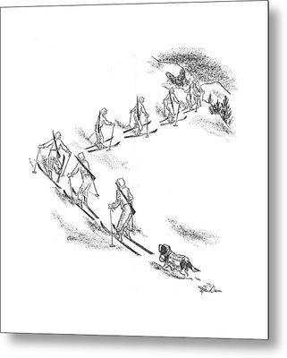 New Yorker April 11th, 1942 Metal Print