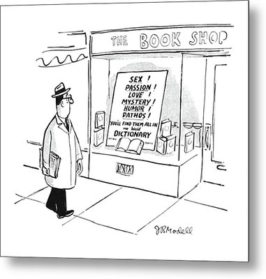 New Yorker April 15th, 1950 Metal Print