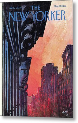 New Yorker August 27th, 1979 Metal Print