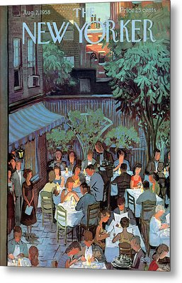 New Yorker August 2nd, 1958 Metal Print