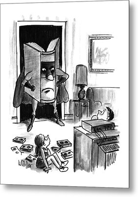 New Yorker August 3rd, 1992 Metal Print
