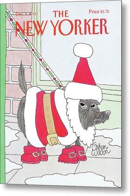 New Yorker December 9th, 1991 Metal Print