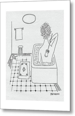 New Yorker February 19th, 1949 Metal Print