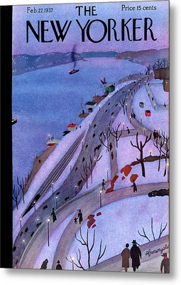 New Yorker February 27th, 1937 Metal Print