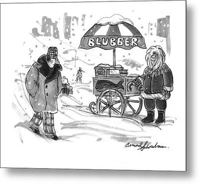 New Yorker February 28th, 1994 Metal Print