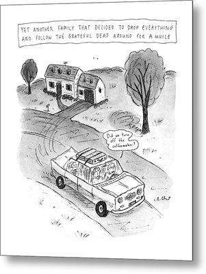 New Yorker February 3rd, 1992 Metal Print