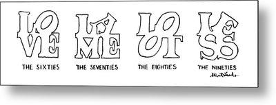 New Yorker February 4th, 1991 Metal Print