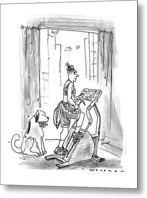 New Yorker February 9th, 1998 Metal Print
