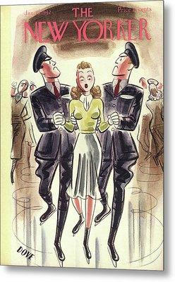 New Yorker January 10th, 1942 Metal Print