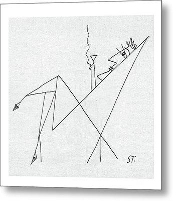 New Yorker January 26th, 1957 Metal Print