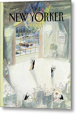New Yorker January 5th, 1987 Metal Print