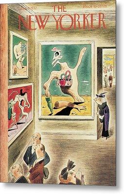 New Yorker January 9th, 1937 Metal Print