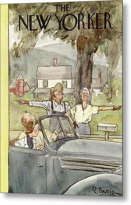 New Yorker July 16th, 1938 Metal Print