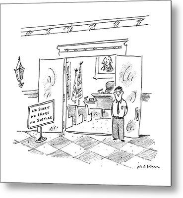 New Yorker July 17th, 1995 Metal Print