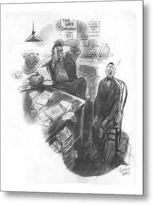 New Yorker July 1st, 1933 Metal Print