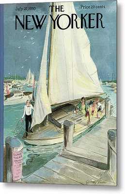 New Yorker July 22nd, 1950 Metal Print by Garrett Price