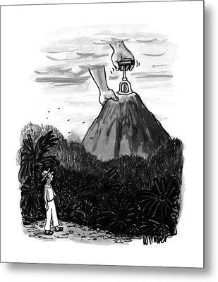 New Yorker July 24th, 1995 Metal Print