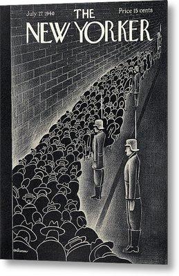 New Yorker July 27th, 1940 Metal Print