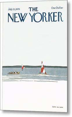 New Yorker July 31st, 1978 Metal Print by Gretchen Dow Simpson