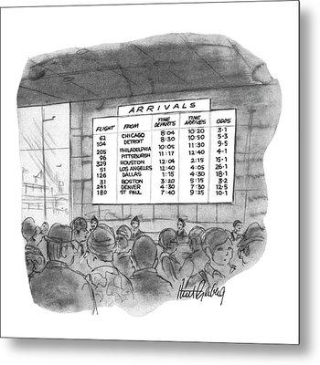 New Yorker July 4th, 1970 Metal Print