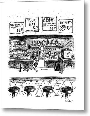 New Yorker June 10th, 1991 Metal Print