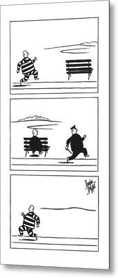 New Yorker June 12th, 1943 Metal Print