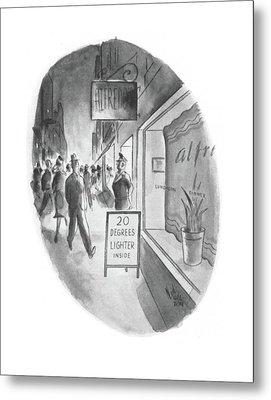 New Yorker June 13th, 1942 Metal Print