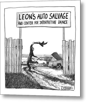 New Yorker June 14th, 1999 Metal Print