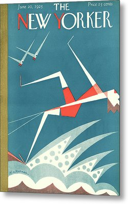 New Yorker June 20th, 1925 Metal Print by H.O. Hofman