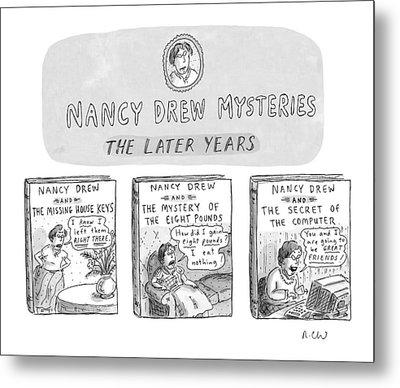 New Yorker June 22nd, 1998 Metal Print