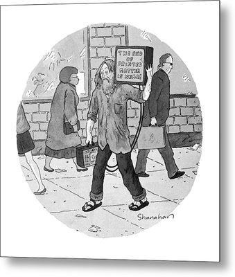New Yorker June 27th, 1994 Metal Print by Danny Shanahan