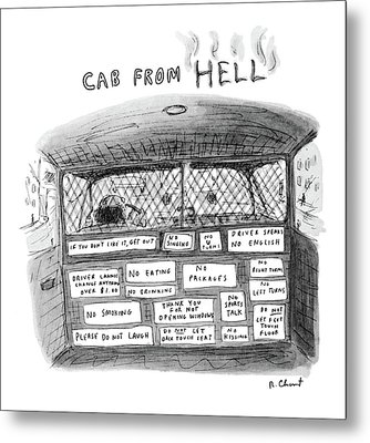 New Yorker June 6th, 1983 Metal Print by Roz Chast