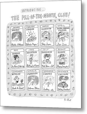 New Yorker June 8th, 1998 Metal Print