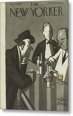 New Yorker March 11th, 1950 Metal Print