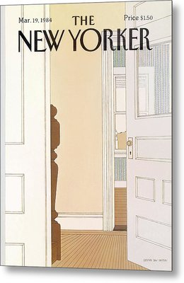 New Yorker March 19th, 1984 Metal Print by Gretchen Dow Simpson