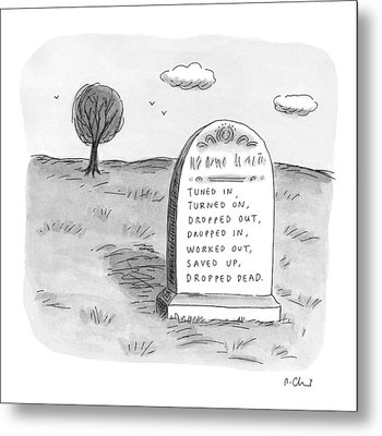 New Yorker May 11th, 1998 Metal Print