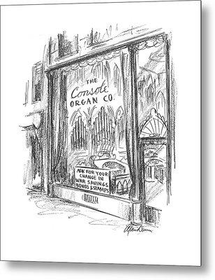New Yorker May 16th, 1942 Metal Print