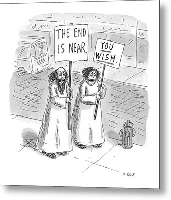 New Yorker May 19th, 1997 Metal Print by Roz Chast