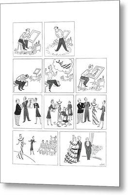 New Yorker May 23rd, 1942 Metal Print