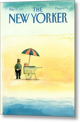 New Yorker May 25th, 1987 Metal Print